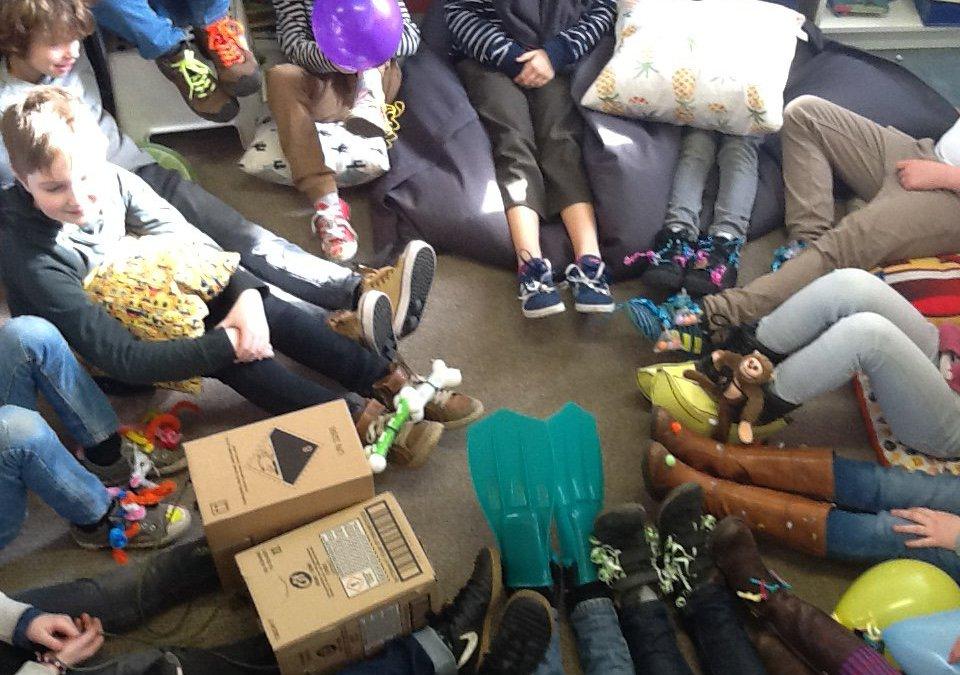 Gekke schoenendag