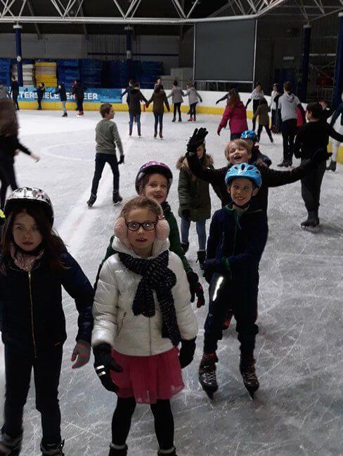 Eindelijk schaatsen (2de)