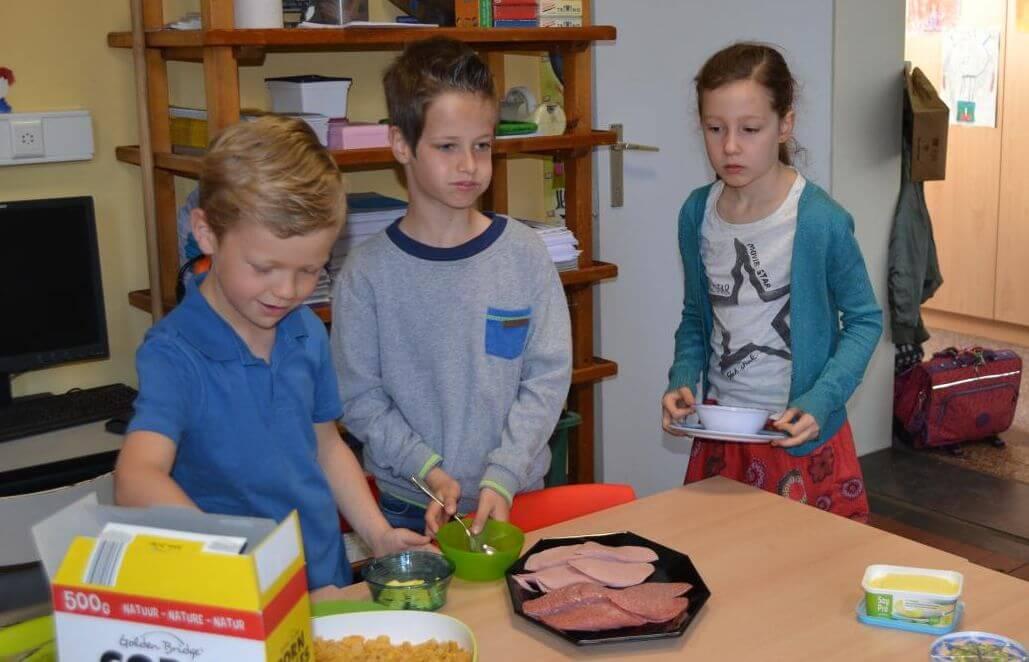 Gezond ontbijt 2de leerjaar