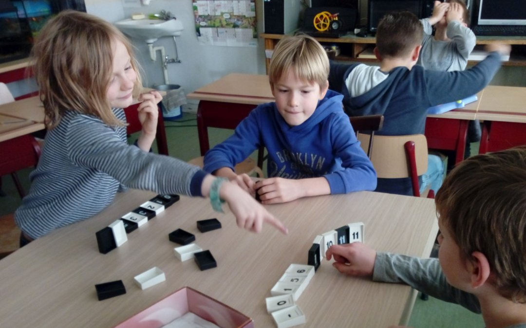 Gezelschapsspelletjes in de klas