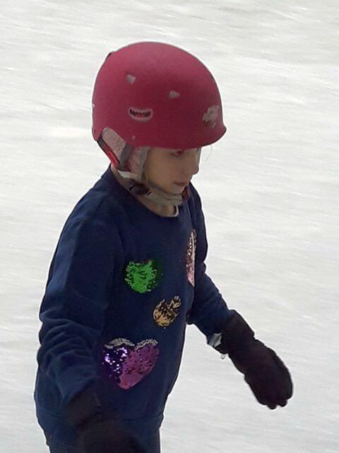 Joepie schaatsen!